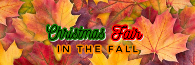 Christmas Fair in the Fall